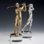 Bobby Jones Swing Metal Trophies