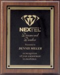 Plaque with Square Plate Award Sales Awards